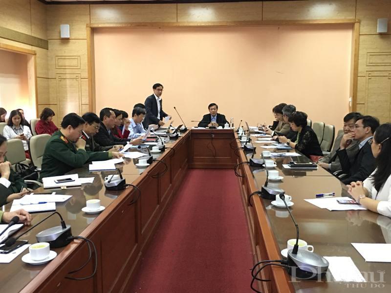 Thứ trưởng Bộ Y tế Đỗ Xuân Tuyên chủ trì cuộc họp Ban Chỉ đạo phòng, chống dịch bệnh nguy hiểm, mới nổi.