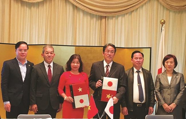 Lễ ký kết Hợp đồng viện trợ tại Hà Nội với sự tham dự của Ngài Kunio Umeda - Đại sứ Đặc mệnh Toàn quyền Nhật Bản