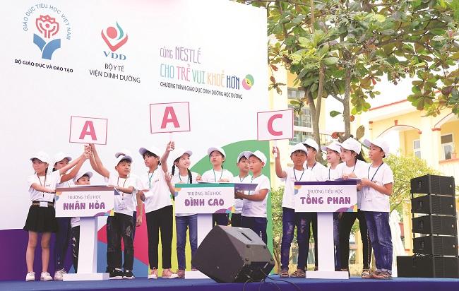 Nestle' Việt Nam -  Góp phần vào tương lai khỏe mạnh hơn cho người Việt