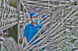VNPOLY xuất bán 5 tấn sợi DTY để sản xuất khẩu trang y tế phòng chống dịch nCoV