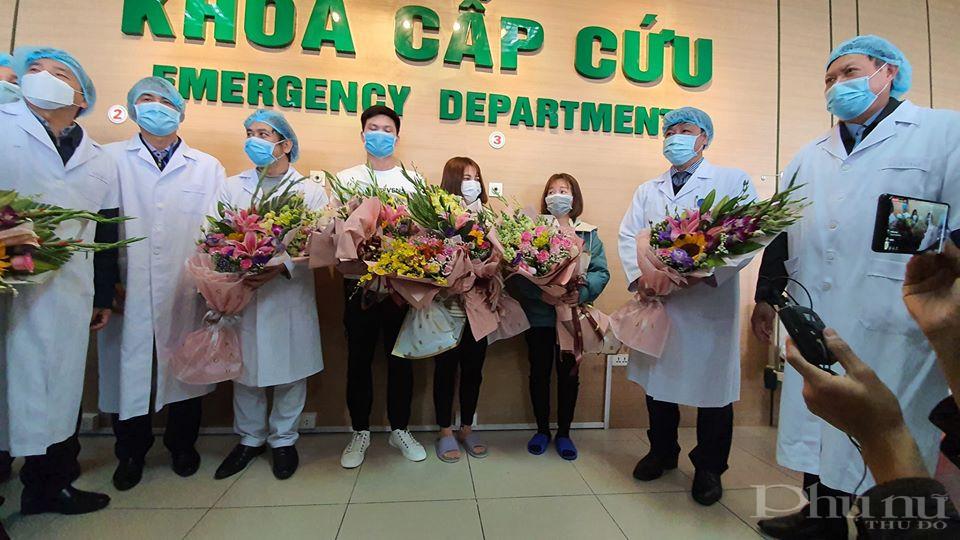 Cả 3 bệnh nhân được xuất viện đều ở Vĩnh Phúc, trong đoàn công tác sang Vũ Hán làm việc.