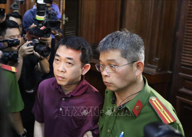 Bị cáo Nguyễn Minh Hùng.