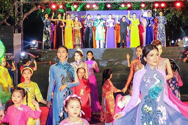 Lễ hội áo dài là một trong những điểm nhấn mà Trung ương Hội LHPN Việt Nam phát động hưởng ứng trong năm 2020.