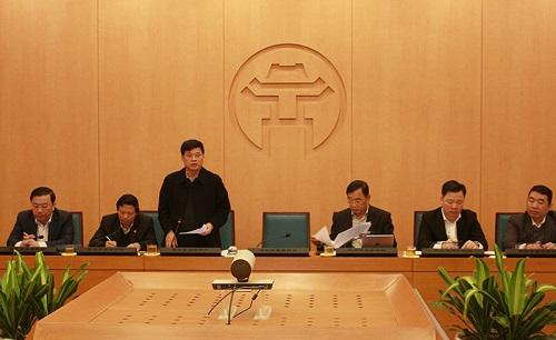 Ông Ngô Văn Quý - Phó Chủ tịch UBND TP kết luận tại cuộc họp