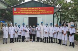 4/5 bệnh nhân mắc Covid-19 điều trị tại Vĩnh Phúc đã khỏi bệnh
