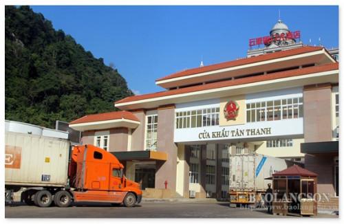 Hôm nay bắt đầu mở lại cửa khẩu Tân Thanh, Lạng Sơn cho hàng hóa xuất nhập khẩu