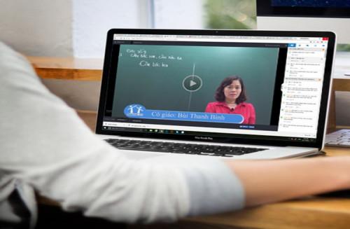 Sở GD-ĐT Hà Nội ra mắt hệ thống ôn luyện trực tuyến