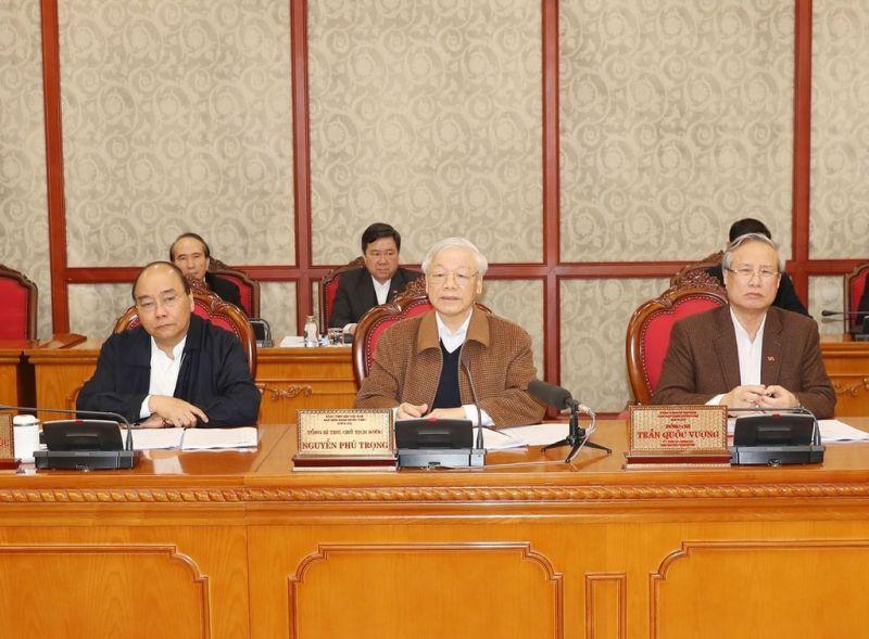Tổng bí thư, Chủ tịch nước Nguyễn Phú Trọng cho rằng chống dịch quyết liệt nhưng không sợ hãi đến mức không dám làm gì. Ảnh: Trí Dũng/TTXVN.