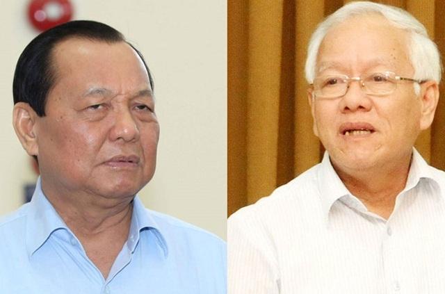 Bí thư Thành ủy TPHCM nhiệm kỳ 2010-2015 Lê Thanh Hải và Chủ tịch UBND thành phố Lê Hoàng Quân cùng phải chịu trách nhiệm về những sai phạm trong dự án khu đô thị mới Thủ Thiêm.