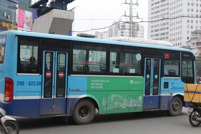 Mỗi chuyến xe buýt giờ đây chỉ có vài hành khách, thậm chí có những chuyến xe chỉ có 1 hành khách.