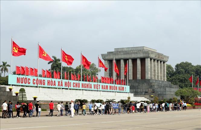 Tạm dừng tổ chức lễ viếng Chủ tịch Hồ Chí Minh từ ngày 23-3. Ảnh: Anh Tuấn/TTXVN
