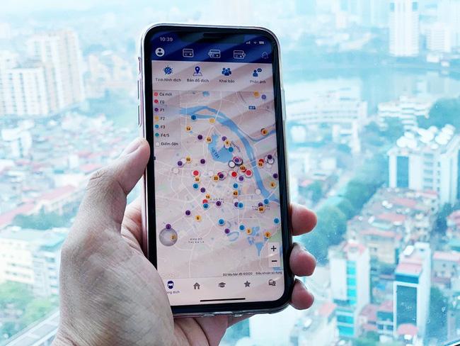 ứng dụng Hà Nội Smart City hỗ trợ quản lý, theo dõi diễn biến tình hình dịch Covid-19, giám sát các trường hợp thuộc diện phải cách ly