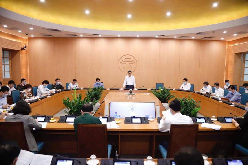 Ban Chỉ đạo phòng chống dịch Covid -19 họp trực tuyến vào chiều ngày 25/3