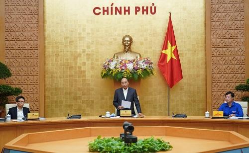 Thủ tướng Nguyễn Xuân Phúc chủ trì buổi làm việc với Trung ương Đoàn Thanh niên Cộng sản Hồ Chí Minh - Ảnh: VGP/Quang Hiếu