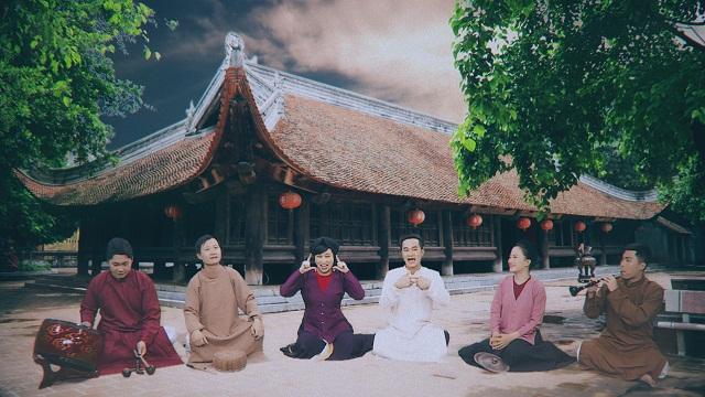 Nhóm Xẩm Hà Thành trong MV