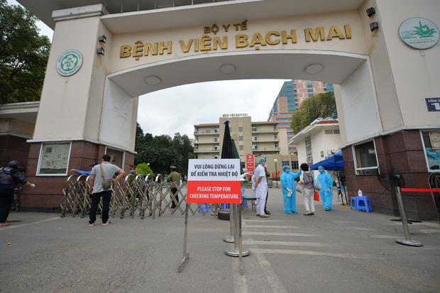 Bệnh viện Bạch Mai. Hình minh họa