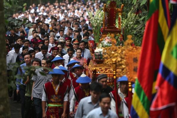 Giá trị tốt đẹp của ''Tín ngưỡng thờ cúng Hùng Vương'' đã được UNESCO công nhận là di sản thế giới.