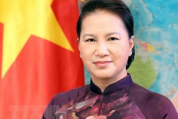 Ủy viên Bộ Chính trị, Chủ tịch Quốc hội Nguyễn Thị Kim Ngân.