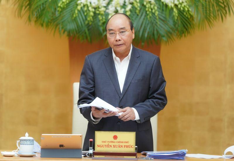 Thủ tướng phát biểu kết luận phiên họp Chính phủ thường kỳ tháng 3/2020