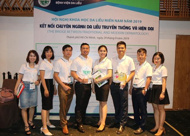 Đội ngũ phát triển sản phẩm của Công ty Dược OMC.