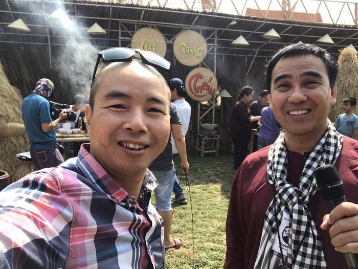 MC Quyền Linh và đạo diễn Nguyễn Phi Hùng