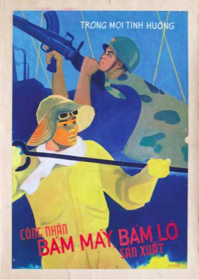 Nguyễn Văn Thiện. 1967. Bột màu.