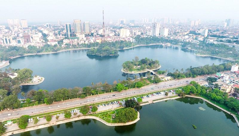 Hà Nội đang từng bước xây dựng và phát triển hướng tới là một thành phố thông minh.