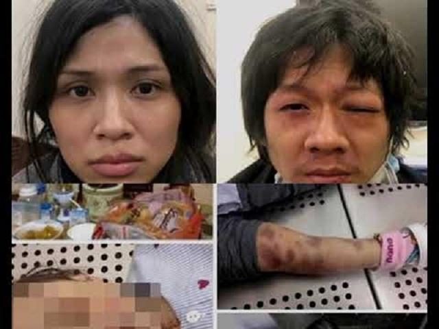 Cặp đôi cha dượng và mẹ đẻ thừa nhận việc đánh đập bé gái 3 tuổi dẫn đến tử vong.