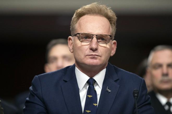 Quyền Bộ trưởng Hải quân Mỹ Thomas Modly. Ảnh: AP