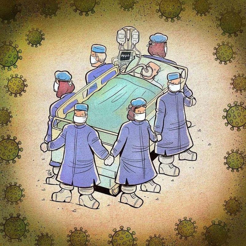 Các bác sĩ chung tay đoàn kết bảo vệ bệnh nhân trước sự tấn công dồn dập từ dịch bệnh nguy hiểm.