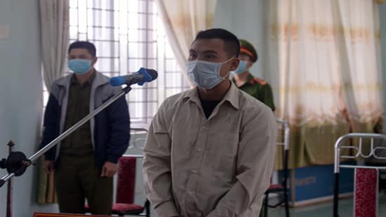 Bị cáo Đào Xuân Anh bị tuyên án 9 tháng tù giam