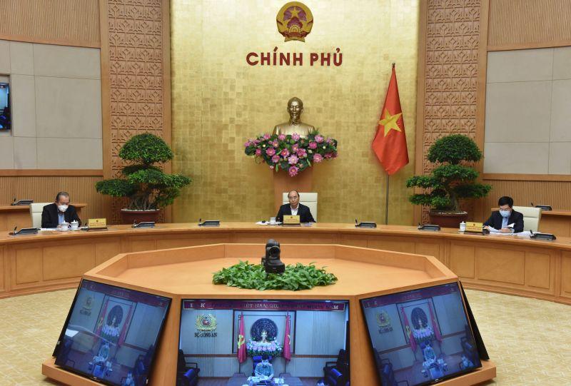 Thủ tướng Nguyễn Xuân Phúc sẽ chủ trù hội nghị trực tuyến với các địa phương hôm nay