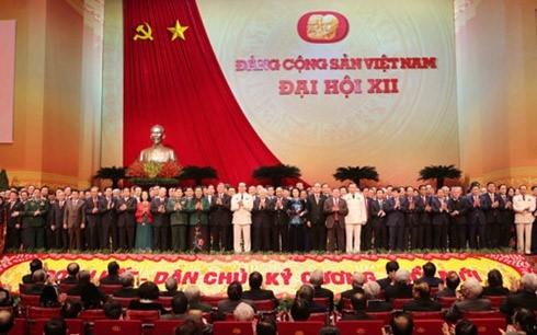 Hình ảnh tại Đại hội Đảng toàn quốc lần thứ XII. (Ảnh: HH)