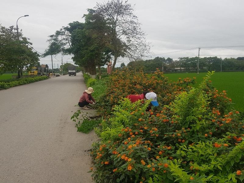 Công tác vệ sinh môi trường vẫn được chị em hội viên duy trì đảm bảo thực hiện đúng Chỉ thị 16 của Thủ tướng Chính phủ