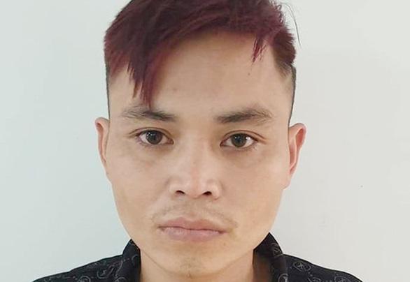 Bị can Lưu Văn Danh tại cơ quan công an