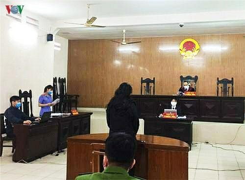 Phiên tòa xét xử Vũ Thị Thúy Vân là phiên tòa đầu tiên xét xử đối tượng chống đối người thi hành công vụ tại chốt kiểm soát dịch bệnh Covid-19 trên địa bàn Hải Phòng.