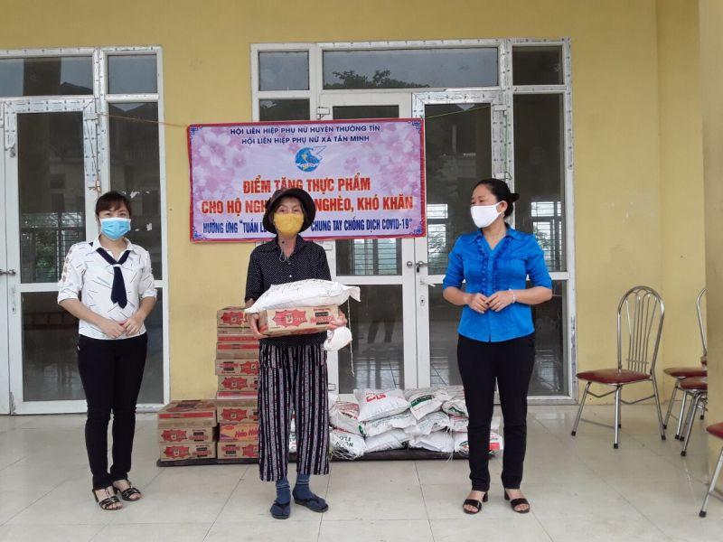 Các cấp Hội phụ nữ huyện Thường Tín tham gia chương trinh