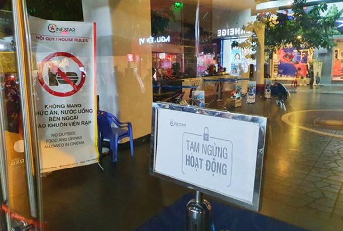 Các rạp phim trên toàn quốc buộc phải tạm ngừng hoạt động do dịch Covid-19