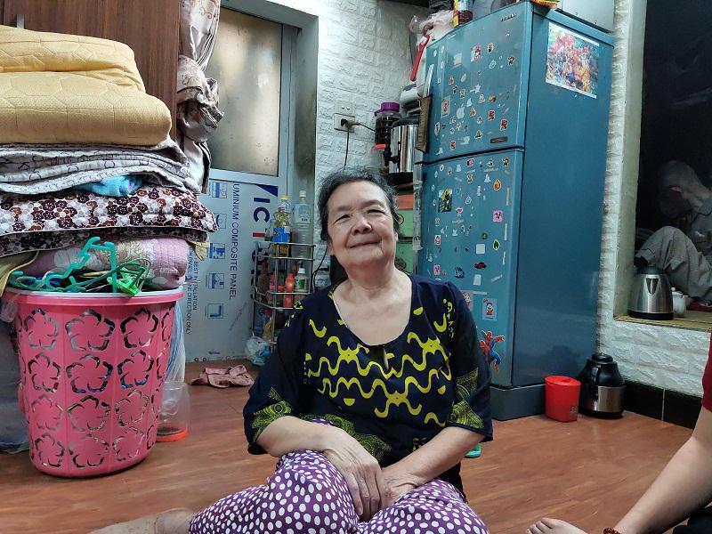 Gia đình bà Phạm Thị Mai , khu dân cư số 6  gửi lời cảm ơn tới UBND phường và MTTQ và các đoàn thể đã luôn quan tâm, chia sẻ kịp thời với những gia đình bị ảnh hưởng bởi dịch.