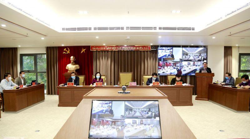 Hội nghị đã thống nhất cao và thông qua số lượng Uỷ viên BCH Đảng bộ TP khoá XVII