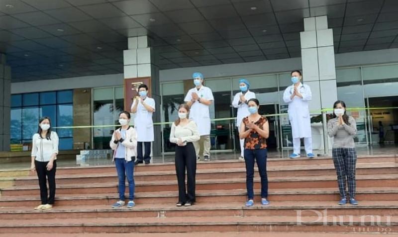 Các bệnh nhân được công bố khỏi bệnh ngày 25/4 tại BV Nhiệt đới TƯ 2.