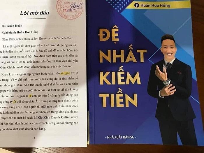 Cuốn sách đang được giao bán công khai trên mạng xã hội, thu hút hàng chục nghìn người.