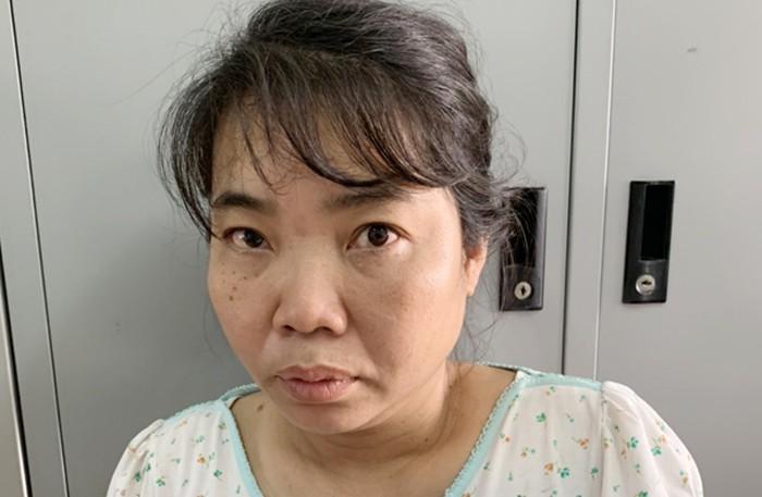 Nguyễn Thị Ngọc Hoa bị tạm giam để điều tra làm rõ về hành vi chống người thi hành công vụ