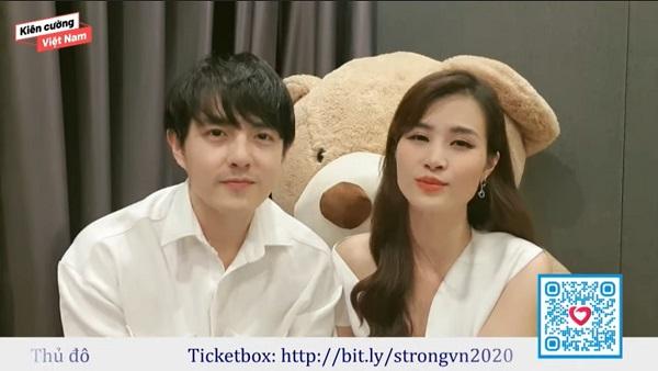 Vợ chồng Đông Nhi – Ông Cao Thắng ủng hộ chương trình 250 triệu đồng