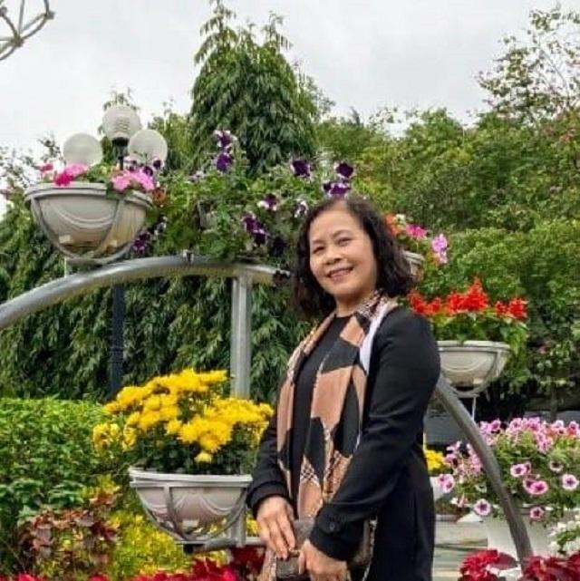 Chị Nguyễn Thị Phương Anh, nguyên giáo viên chủ nhiệm giỏi nhiều năm liền Trường THCS Sơn Tây.