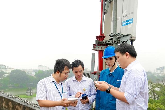 VNPT đo kiểm tra VinaPhone 5G đạt tốc độ 2,2 GB.