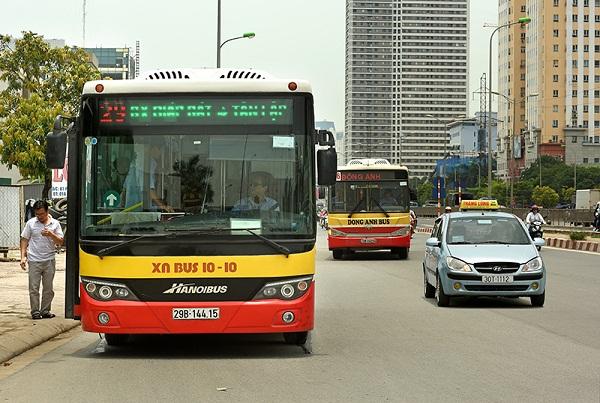 Từ 4/5, xe buýt được hoạt động trở lại