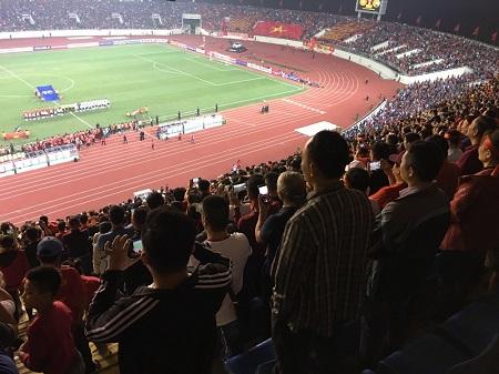 Sân vận động Mỹ Đình của Việt Nam lọt top 5 sân vận động tốt nhất Đông Nam Á.