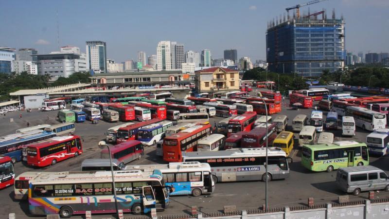 Theo quy hoạch bến xe khách Đông Anh sẽ được bố trí 148 chỗ đỗ xe, đảm nhận vận chuyển hành khách từ các tỉnh vào trung tâm Hà Nội (ảnh minh họa).