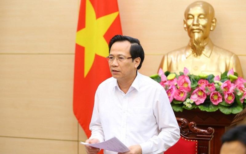 Bộ trưởng Đào Ngọc Dung thông tin tại
